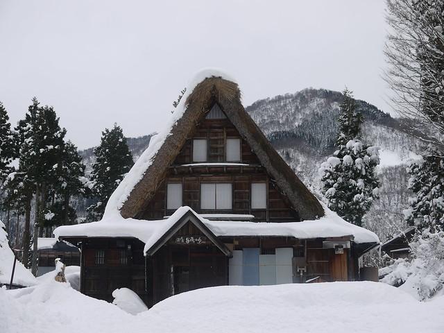 World Heritage site – Ainokura Gassho-style Village