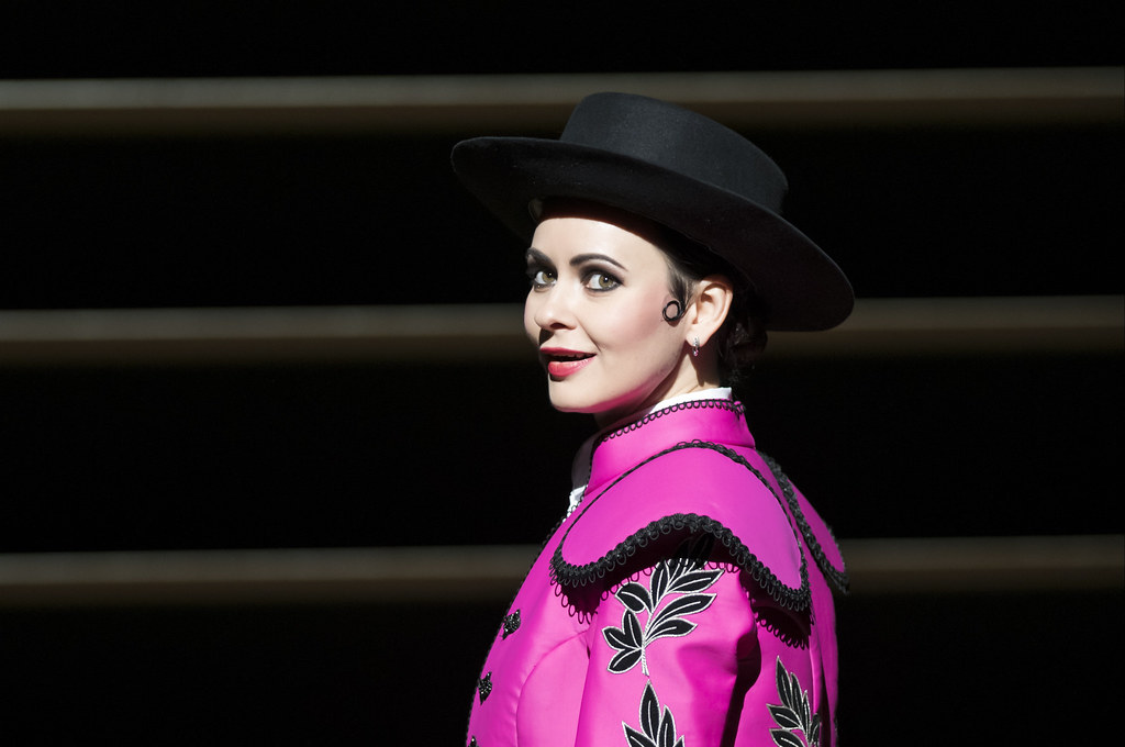 Anna Goryachova as Carmen in Carmen, The Royal Opera Season 2017/18 © ROH 2017. Photograph by Bill Cooper.