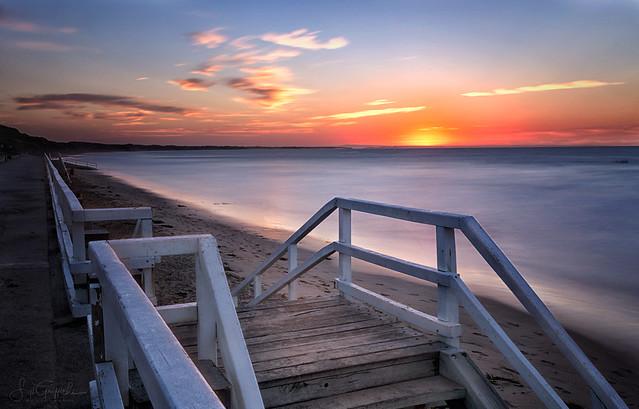 Stepping towards the Sunrise