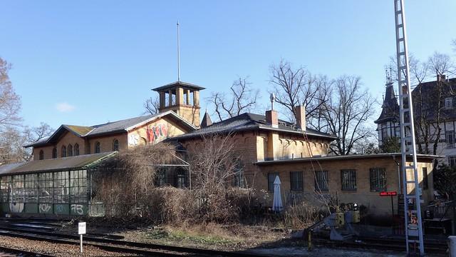 1872 Berlin S-Bahnhof Lichterfelde-West S1 an der Wannsee-Bahn Knesebeckstraße/Hans-Sachs-Straße 4d in 12205 Lichterfelde