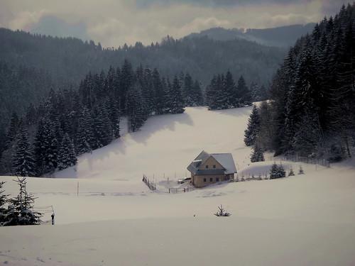 winter slovakia donovaly snow