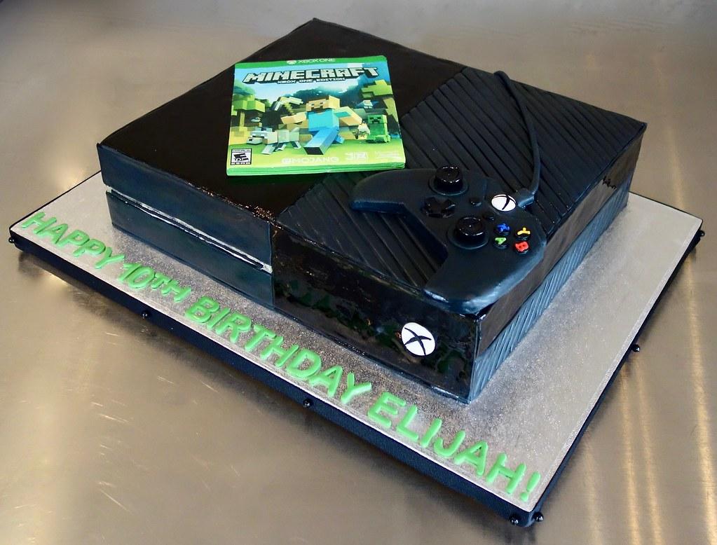 Xbox One Birthday Cake
