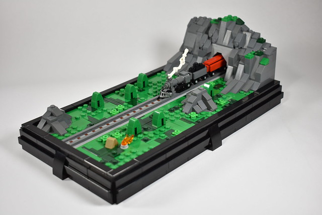 LEGO MOC: Hillside Momento – Blocked Up