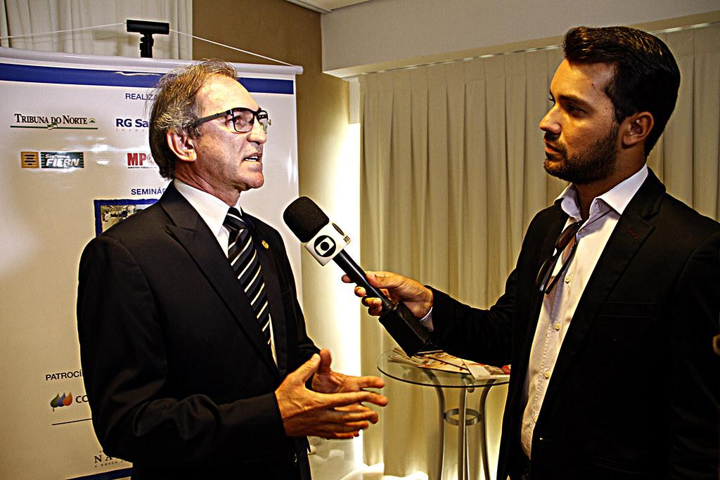 Presidente do Sistema Fecomércio RN, Marcelo Queiroz, entr… | Flickr
