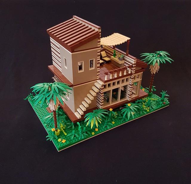 Cocoa Jungle Cottage MOC (II)