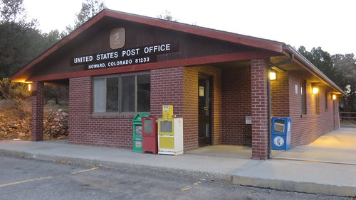 colorado co postoffices fremontcounty howard rockymountains coloradorockies northamerica unitedstates us