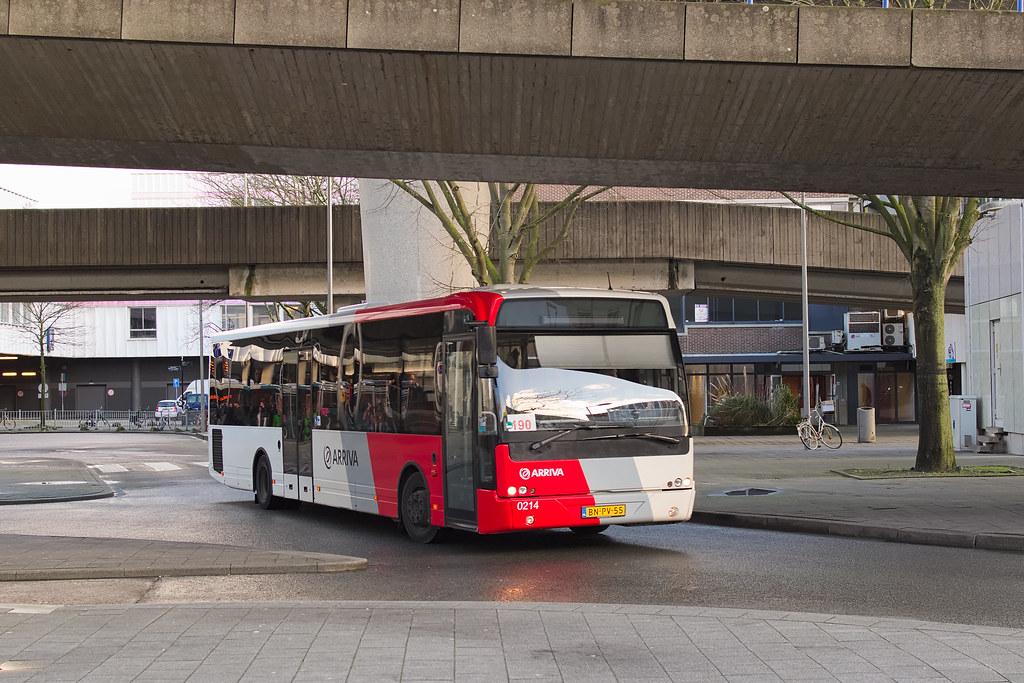Arriva 0214 - Rotterdam Zuidplein   Arriva 0214 vertrekt van…   Flickr