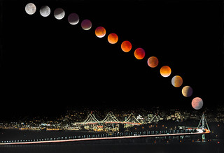 Moons over San Francisco