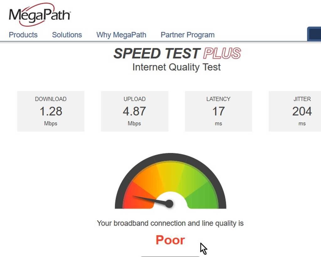 SPEED TEST - Spectrum Internet