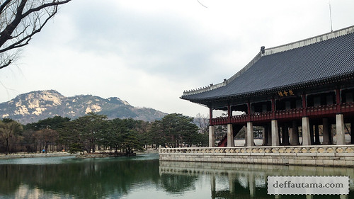 5 hari di Seoul - Gyeonghoeru Pavilion | by deffa_utama