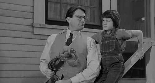 Gregory Peck, Mary Badham, To Kill a Mockingbird (1962)