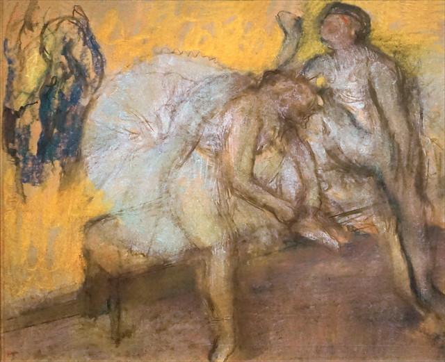 Deux danseuses au repos d'Edgar Degas (Musée d'Orsay, Paris)
