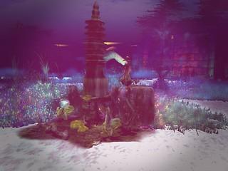 Shagwong Cove Resort - Pagoda Ruins With Coral | by mromani50