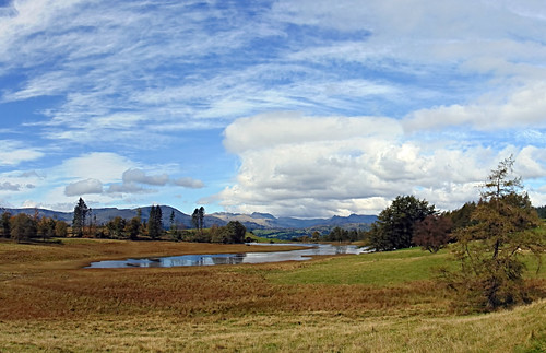 The view from the bridleway looking towards Een Tarn