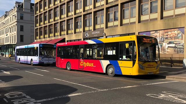Glasgow Citybus YX61 ELV