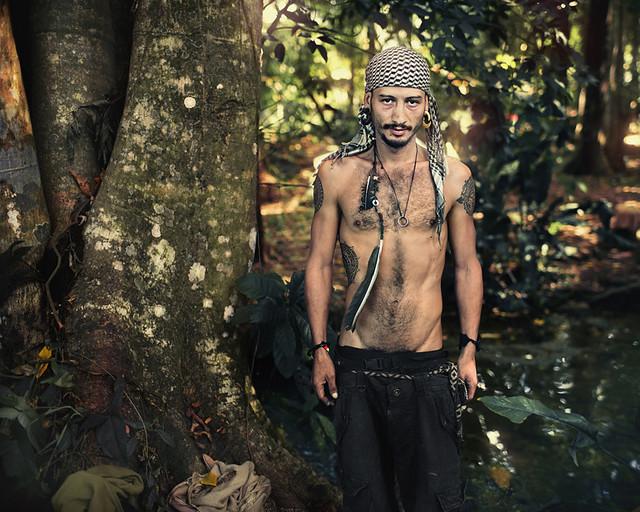 Hippie hippies dredlocs new age spiritual gay men long hair