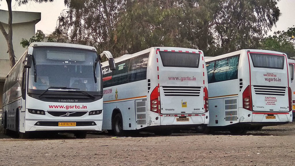 Gsrtc Volvo Buses   Vishal Mehta   Flickr