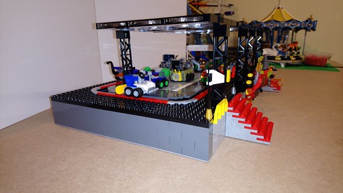 Attraction du parc Brick World utilisé la gamme Mighty Micro | by Tofe59