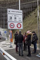 Entrada al túnel de Uretamendi, de casi 600 metros de largo.