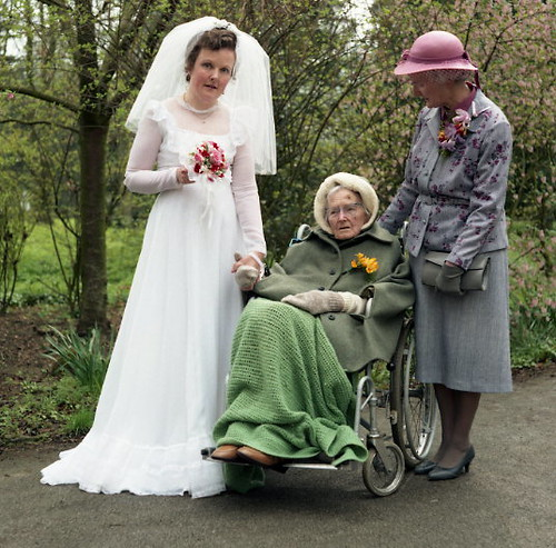 Bride, mother and grandmother?