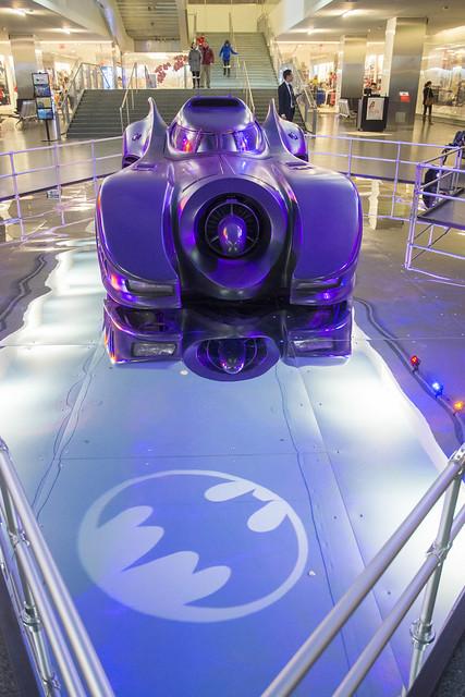 Burtons' Batmobile