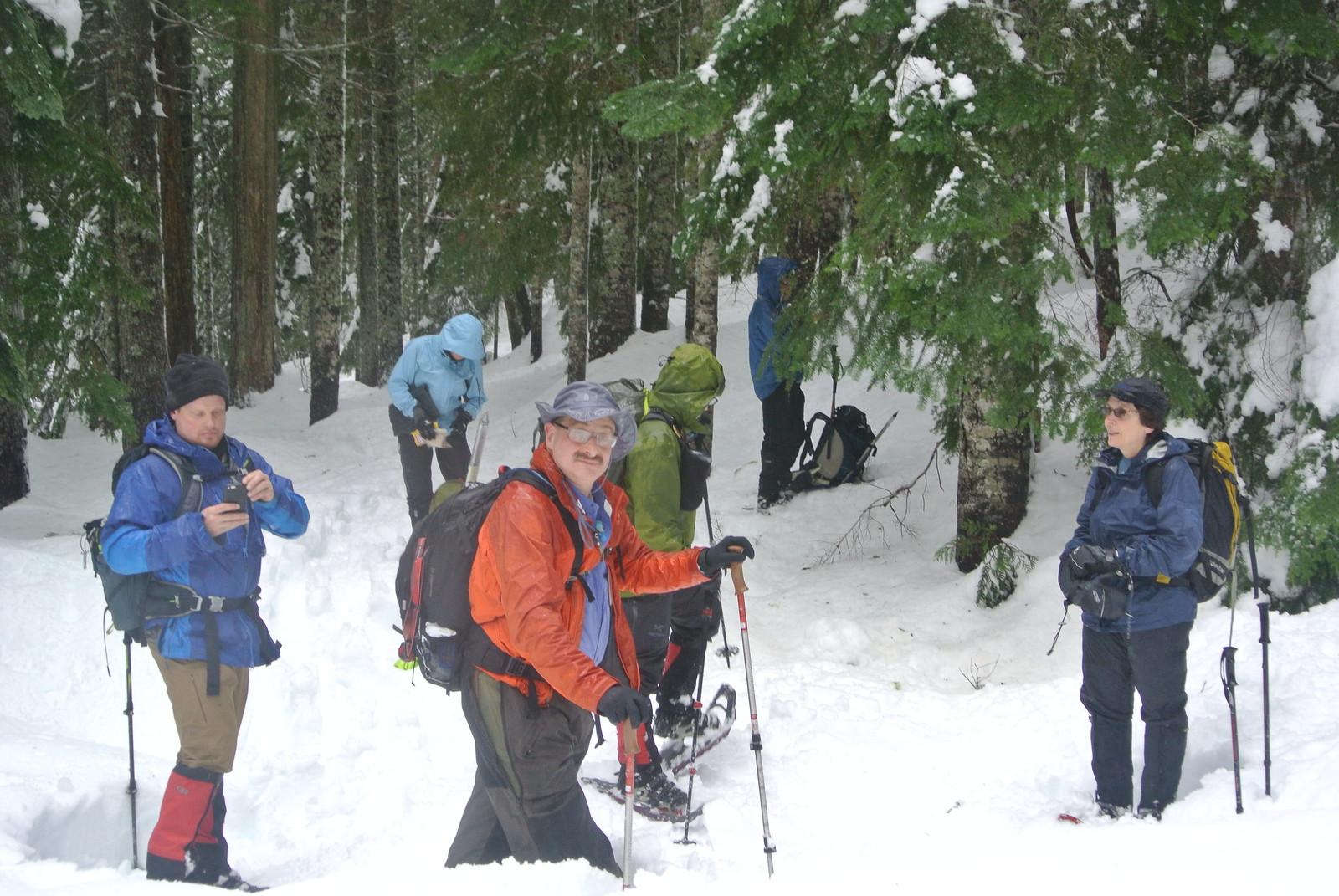 Talapus Lake Snowshoeing trip
