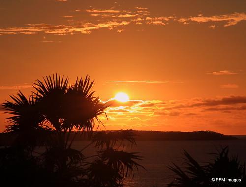 stmartin sunset friarsbay villa caribbean ocean sky sea island nature outdoor landscape canon eos 7d slr