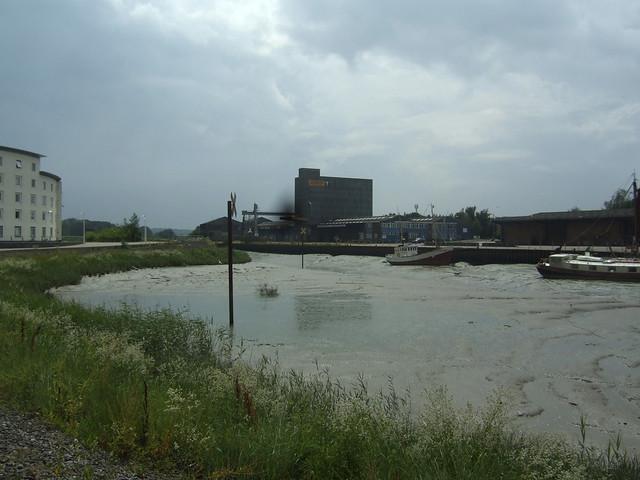The River Colne in Colchester