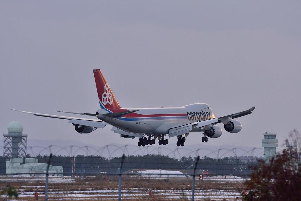 Cargolux LX-VCF B747-8R7F/SCD CV742 LUX-KMQ
