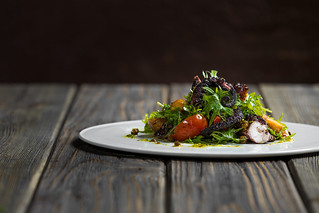 Charred Spanish Octopus - Michael Mina's Stripsteak | by amairphoto