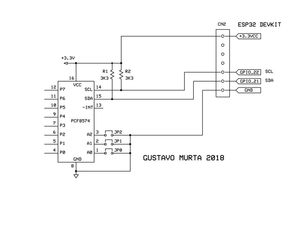 ESP32 PCF8574 TEST | ESP32 - I2C Scanner using Arduino IDE (… | Flickr