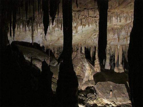 Inside Lehman Caves in Great Basin National Park, Nevada