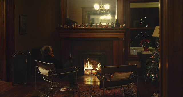 Dad at the fireplace; 22 Parker, Wakefield, Massachusetts (2017)
