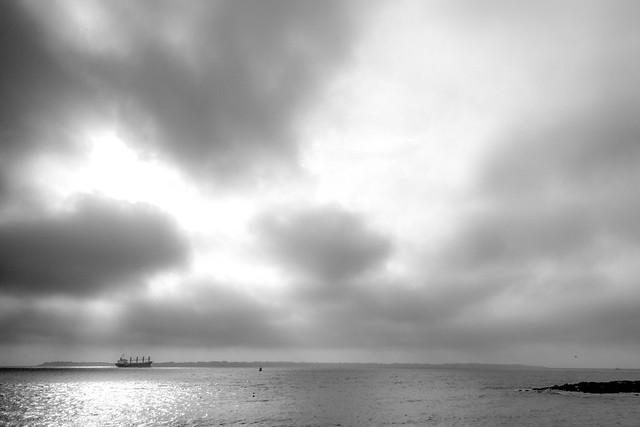 nuages sur Groix