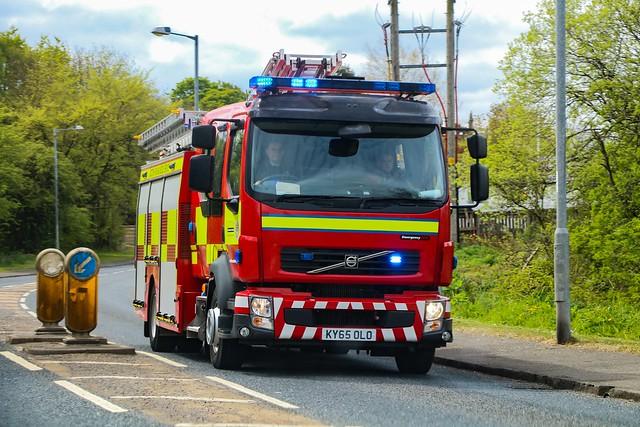 Scottish Fire & Rescue Service M02P1/KY65 OLO