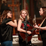 Tue, 20/02/2018 - 1:45pm - The trio of Sara Watkins, Sarah Jarosz and Aoife O'Donovan play for WFUV listeners at the Fordham University Church in NYC, 2/20/18. Hosted by John Platt. Photo by Gus Philippas/WFUV