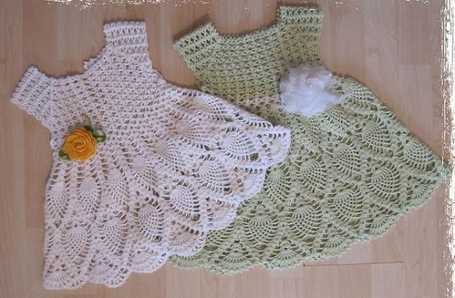 🙋‍♀️ 😬 😍 I loved this crochet dress very delicate and charming step by step I loved this pattern in very beautiful green and white