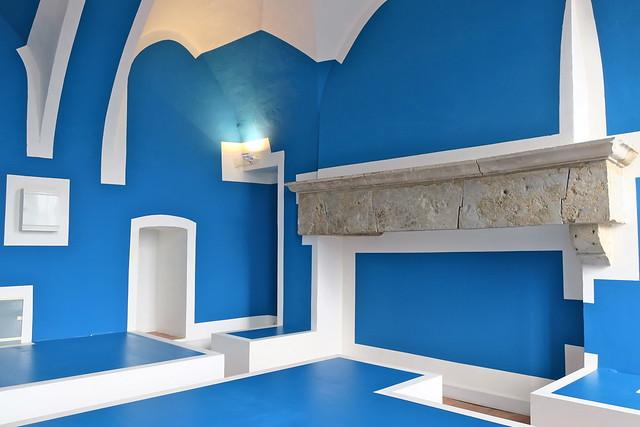 Work for the Abbaye de Corbigny (Blue)