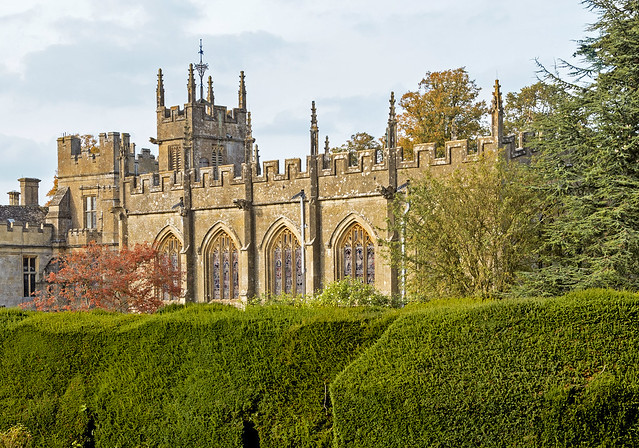 Rear view of St Mary's Church - Sudeley Castle