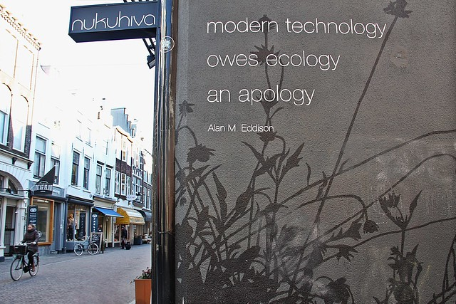 modern technology owes ecology an apology