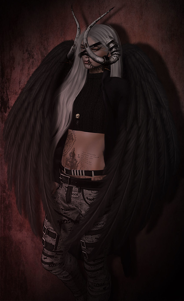 I present to you my evil angel inspired in one of my flickr - Free evil angel pictures ...