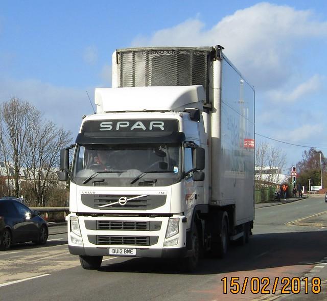 Spar DU12 BWE at Wrexham