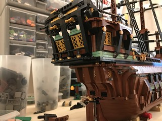 Ship MOC in progress... | by Vedauwoo