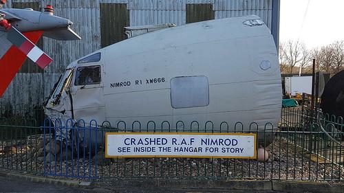Hawker Siddeley Nimrod R.1 c/n 8041 United Kingdom Air Force serial XW666 | by sirgunho
