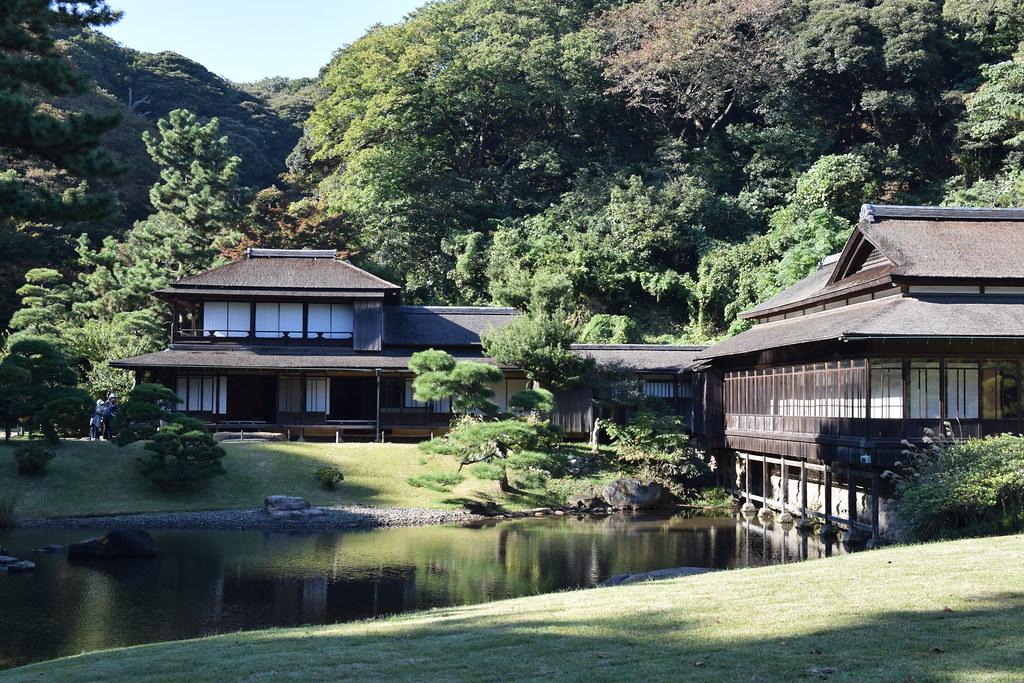 Sankeien Japanese garden