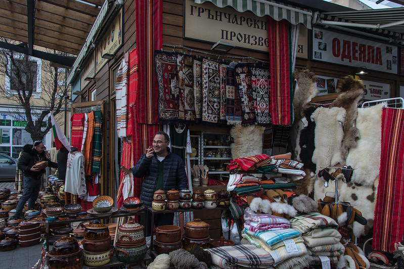 Pottery shop in Sofia