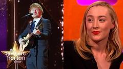 Ed Sheeran Tattooed Saoirse Ronan?s Handwriting Onto Himself! | The Graham Norton Show