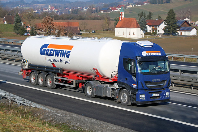 Iveco Stralis 480 XP / Greiwing logistics for you