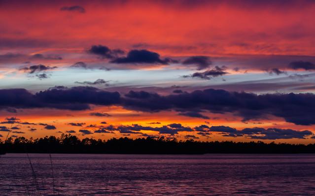 Lake Atsion Sunset