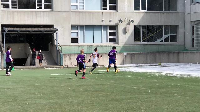 ollie stops a goal